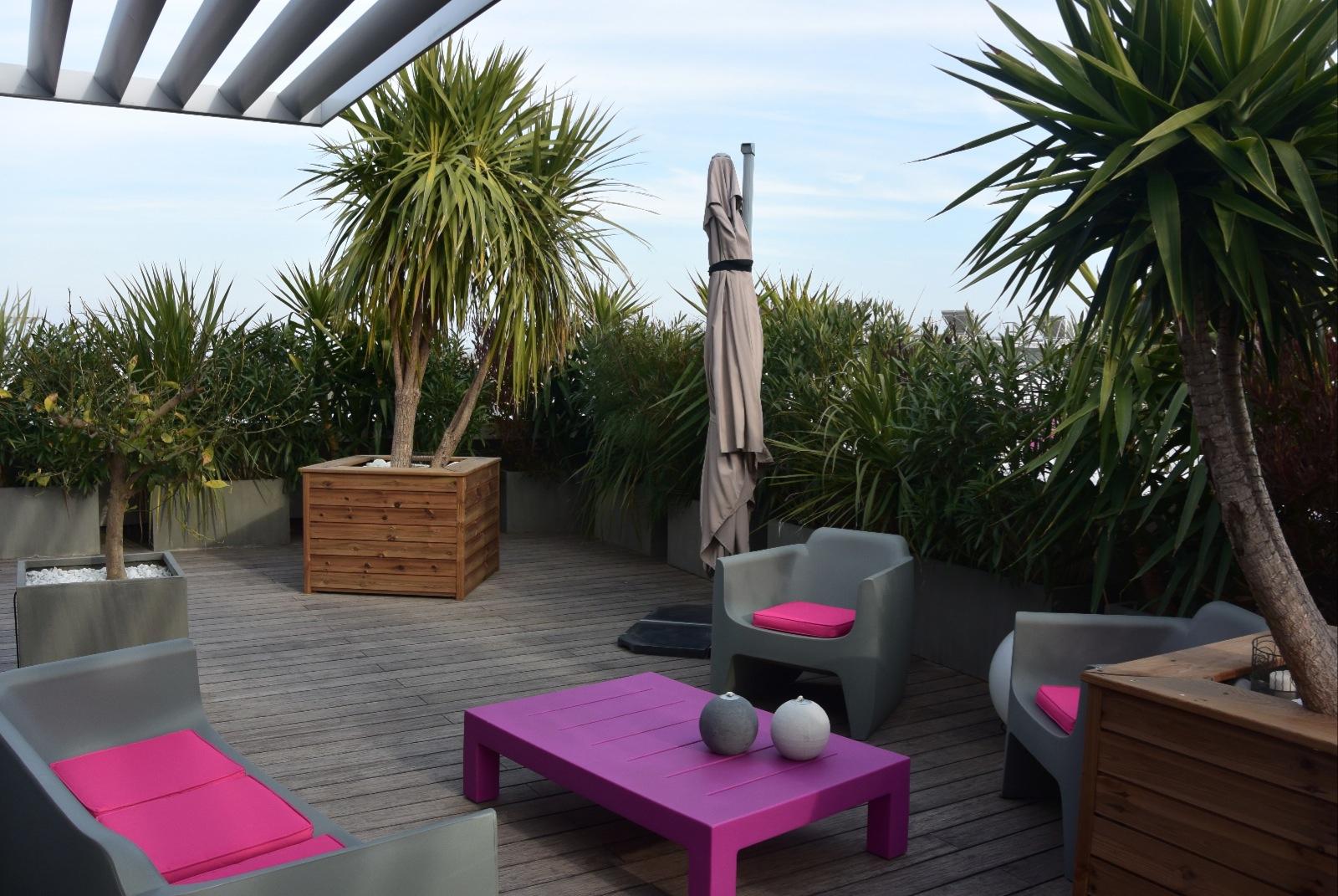 Vente palavas appartement f3 en toit terrasse for Toit terrasse immobilier